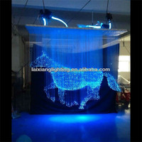 Running horse fiber optic light, yeenoo lighting zhong shan factory led light 3D chandelier