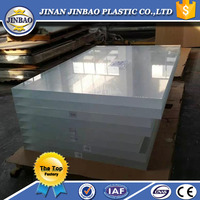 large thick organic glass sheet for aquarium