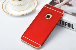 Hard PC Hybrid 3 in 1 Thin Shockproof Cover Case Skin for Apple iPhone 6 6s Plus
