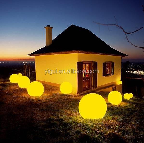 주도 정원 빛을 볼 3D LED 볼 조명 야외 크리스마스 주도 빛 볼 ...