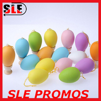 Cheap Colorful Painted Plastic Easter Eggs Toy For Sale,Easter Decoration