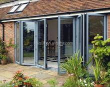 2015 aluminium glass sliding door telescopic for interior