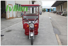 2014 New Electric Driving Type china tricycle for transportation Open Body Type