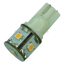 2835SMD 5 LED W5W wedge LED T10 White Light Car Indicator Lamp