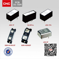 PCB type JGX-1F/JGX-5F/GJ-5-L DC relay timer 24v dc