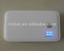 hotsale 2012 New Products mobile battery charger 5000MAH High Capacity Power Bank 5000