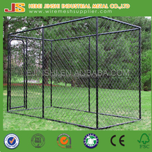 Boxed Outdoor chain link mesh Dog kennel