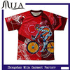 OEM China 100% polyester all over printing custom sublimation t-shirt wholesale