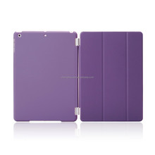 high quality smart case cover stand magnetic folded flip case for ipad