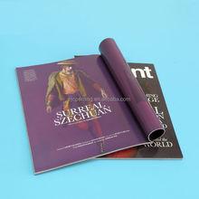perferct binding hot sale magazine in china book printing