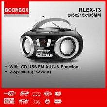 RLBX-13 dj cd player for kids at home