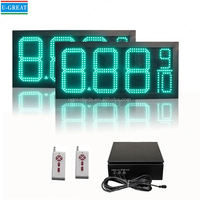 New electronics inventions big size outdoor waterproof high brightness price change board
