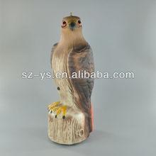 High imitation animal Plastic Blowing Eagle/ Hawk Decoy