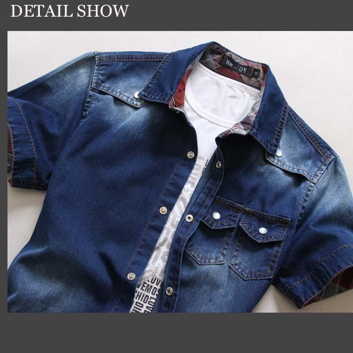 men short sleeve shirt detail 01