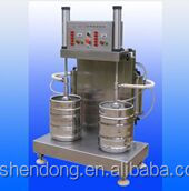 two-head beer keg washer/filler machine, beer manufacturing equipment