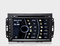 """8"""" Car DVD for Jeep Grandcherokee 2004-2008 Support Bluetooth+ Phonebook+SWC+ATV+Ipod+RDS+Visuc 8 dis"""
