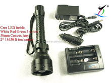 Zoomable LED 18650 Flashlight Torch Zoom Lamp Light