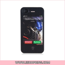 SLIDER Cartoon Robot Design PC Protective Case for iphone 4S
