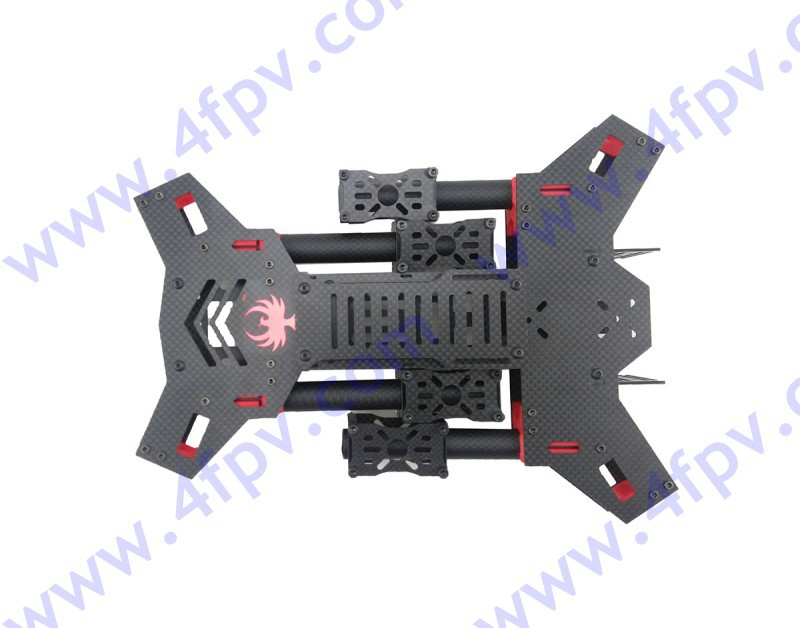 GF-H450mm plegable quadcopter Marco de fibra de carbono 4 rotor ...