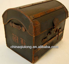 Cheap Antique Wooden Box wih Pirate King Online Style