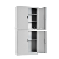 glass door metal filing cabinet sliding display steel cabinet