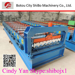 2014 Top! High rib SB35-125-750 aluminum metal roof tile making machinery