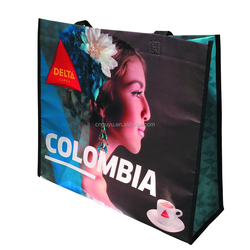 The Best quality and excellent printing color non woven shopping bag , Trendy and bright non woven totes , large shopping totes
