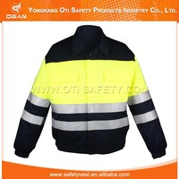 Special design widely used reflective fireproof work clothes