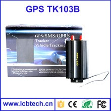 TK103B Vehicle GPS tracker for car Quad band SD card GPS 103 PC&web-based GPS system with Remote Control