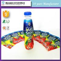 good quality shrink sleeves for water, juice, beverage plastic bottle label