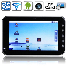 7.0 inch Tablet PC 1.3 Mega pixels Camera Support TF Card and up to 16GB
