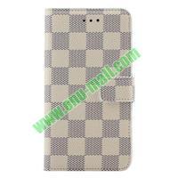 Lattice Pattern mobile phone Flip Leather case for lg g3 case cover D850