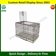 Pet Cage Folding Dog Cat Small Animal Crate Kennel 20 inch Black New YM5-541