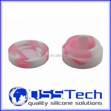 Cube square silicone bho container for wax oil, ball non-stick concentrate silicone container wax wholesale