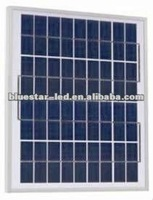 5W Polycrystalline silicon solar panel with small size