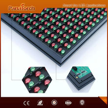 PanaTorch China Popular Products P10RG Led Moving Message Display IP65 Waterproof 1/4 constant current