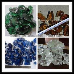 slag glass rocks for garden