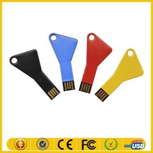 Made in china alibaba metal promotional usb key 8gb with grade A chip key usb flash