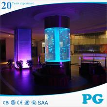 PG Small Round Plastic Fish Farm Aquarium Fish Tanks