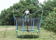 bungee trampoline manufacturers with enclosure for sale