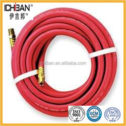 High Pressure rubber coated pipe agricultural Fiber Spiral Gas hose pipe
