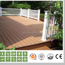 recycled plastic composite decking boards for patio floor coverings