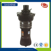 QY vertical multistage centrifugal pump with oil-filled submersible motor water submerged pump