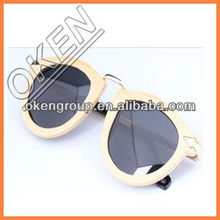 Fashion bamboo and wooden eyewear wholesale in china market