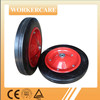 13 inch solid rubber wheel for wheelbarrow/Rubber Powder wheel