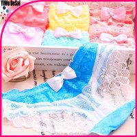 free sample women bow underwear girl transparent sexy underwear sexy lace underwear