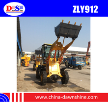 Wheel Loader Price 20KW with CE - Front End Loader ZLY912F - Loader Mini 1 Tons