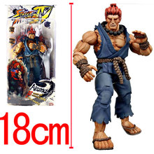 Wholesale Anime NECA Player Select Street Fighter IV Survival Model Gouki Akuma Action Figure