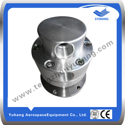 Special aluminum rotary air union for tire industry