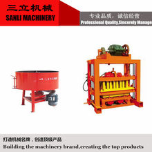 Small scale QTJ4-40 High Quality Cement/Concrete Block Making Machine